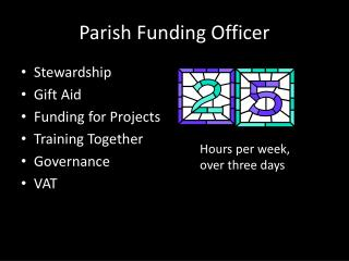 Parish Funding Officer