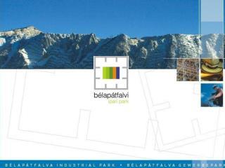 A Bélapátfalvi Ipari Park elhelyezkedése
