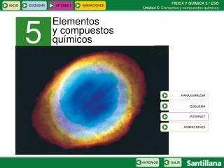 Elementos  y compuestos qu�micos
