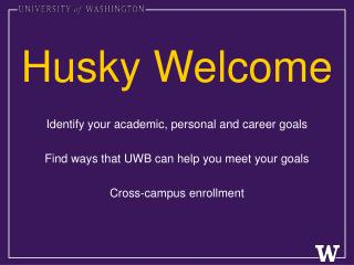 Husky Welcome