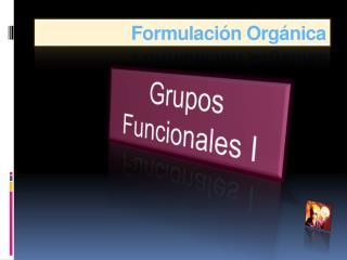 Formulaci�n Org�nica