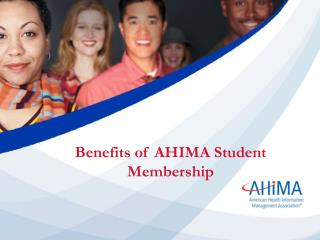 Benefits of AHIMA Student Membership