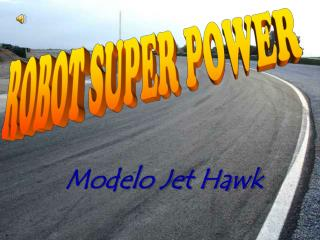 Modelo Jet Hawk