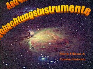 Astronomische  Beobachtungsinstrumente