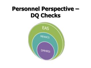 Personnel Perspective – DQ Checks