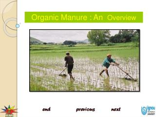 Organic Manure : An   Overview
