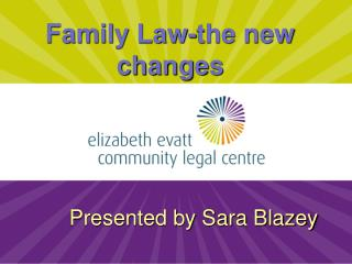 Family Law-the new changes