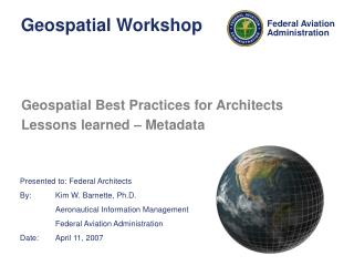 Geospatial Workshop