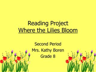 Reading Project