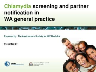 Chlamydia screening and partner notification in WA general practice