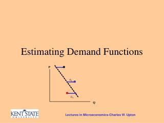 Estimating Demand Functions