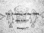 The Feeding of the 5000