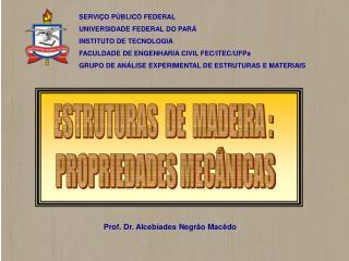 SERVIÇO PÚBLICO FEDERAL UNIVERSIDADE FEDERAL DO PARÁ INSTITUTO DE TECNOLOGIA