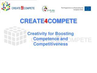 CREATE 4 COMPETE