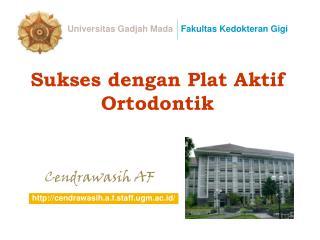 Sukses dengan Plat Aktif Ortodontik