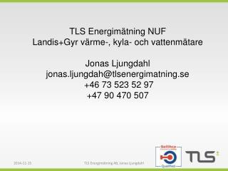 TLS Energimätning NUF