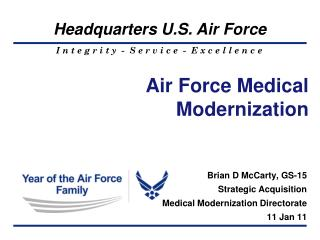 Air Force Medical Modernization