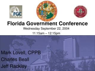 Florida Government Conference