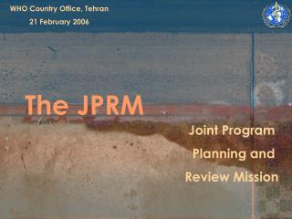 The JPRM