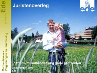 Platform milieuhandhaving grote gemeenten