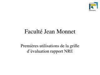 Faculté Jean Monnet