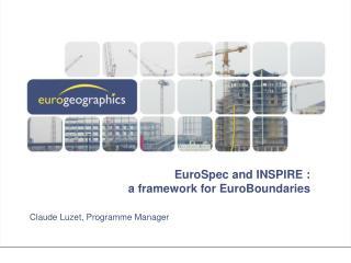 EuroSpec and INSPIRE : a framework for EuroBoundaries