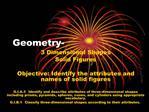 Geometry-