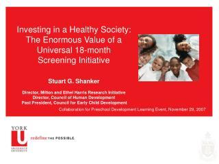 Collaboration for Preschool Development Learning Event, November 29, 2007