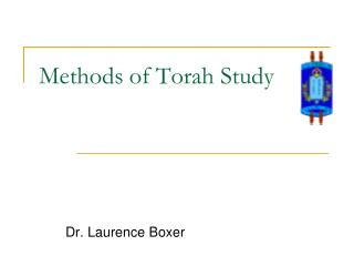 Methods of Torah Study