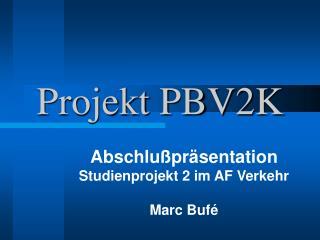 Projekt PBV2K