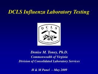 DCLS Influenza Laboratory Testing