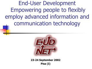 23-24 September  2002 Pisa (I)
