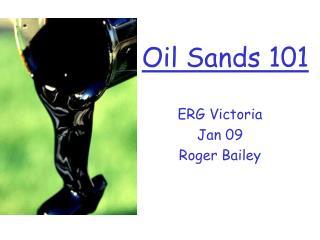 Oil Sands 101