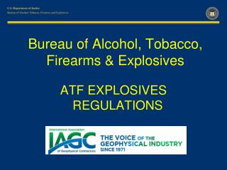 Bureau of Alcohol, Tobacco, Firearms & Explosives
