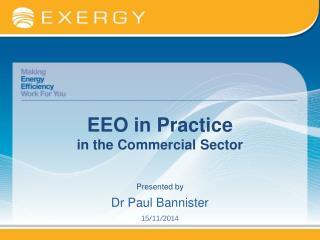 EEO in Practice in the Commercial Sector