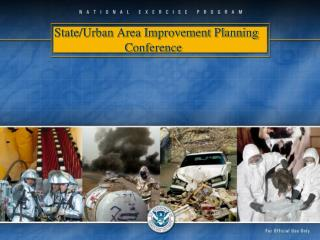 State/Urban Area Improvement Planning Conference