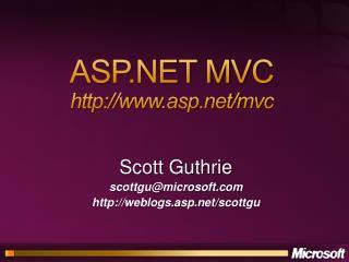 ASP MVC asp