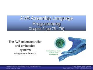 AVR  Assembly Language Programming Chapter 2 ( pp  75 - 79)
