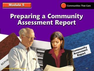 Community Assessment Training