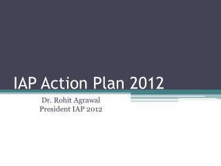 IAP Action Plan 2012