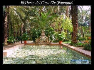 El Herto del Cura Elx (Espagne)