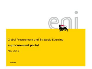 e-procurement portal