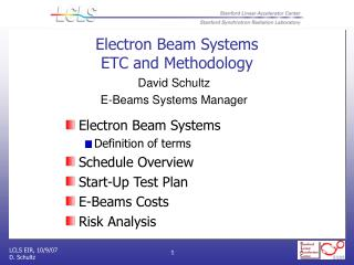 Electron Beam Systems ETC and Methodology