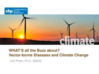 WHAT ' S all the Buzz about?  Vector-borne Diseases and Climate Change