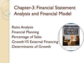 Chapter-3: Financial Statement Analysis and Financial Model