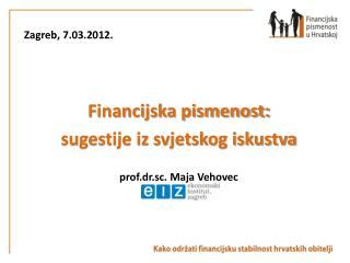 Zagreb, 7.03.2012.