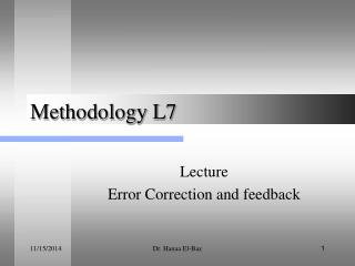 Methodology L7
