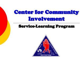 Center for Community Involvement