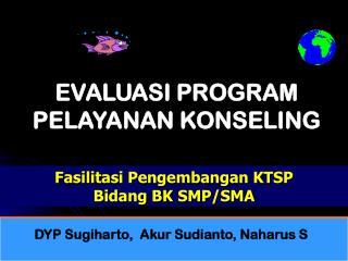 Fasilitasi Pengembangan KTSP                       Bidang BK  SMP/ SMA