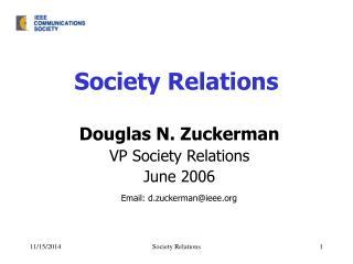 Society Relations
